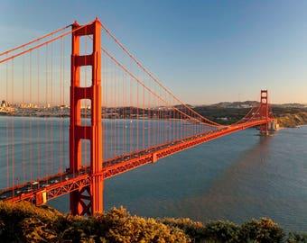 LIMITED EDITION - Golden Gate Bridge - San Francisco - Fine Art Print - Home Decor