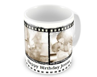 Film strip mug