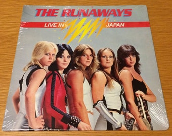 The Runaways -- Live in Japan | factory-sealed LP in original shrinkwrap | free shipping in the US