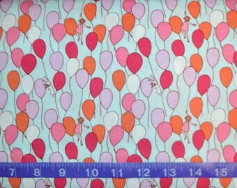 Michael Miller. Children at Play Balloons - Cotton fabric BTY - By The Yard - Choose your cut
