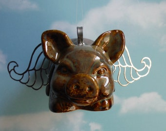 Flying Pig Figurine, PIGURINE