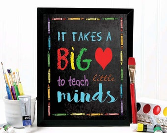TEACHER GIFT teacher gifts teacher prints chalkboard gift for teacher valentine gift teacher printable teacher gift ideas, T100