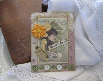 Sewing-themed Card - Card for Seamstress - Card for Crafter - Card for Quilter
