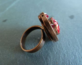 """""""Ruby"""" Adjustable ring"""