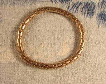 1980s articulated gold-tone bracelet