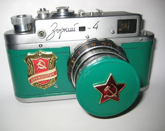 1959 ZORKI 4 Rare 35mm RF Russian Leica from viktan
