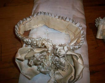 ribbon work wedding silk ribbon antique ruffle bows