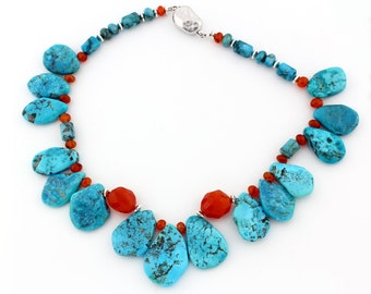 American Beauty Turquoise Necklace  KT3695
