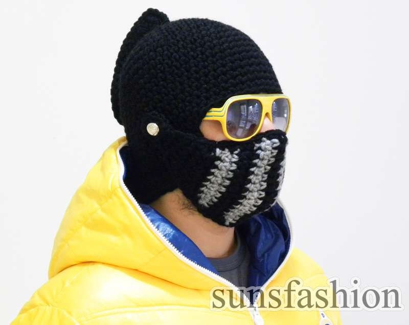 Knight Helmet hat Boyfriend gift Winter Hat Mens hat Brother gift College student gift bike mask Winter Knit Cap game of thrones hat