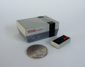 Mini Nintendo NES - 3D Printed!
