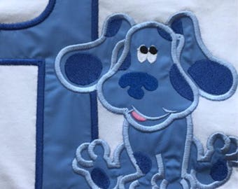 Blues Clues Embroidered Birthday Onesie or Shirt