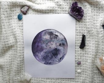 Shadow Violet Moon