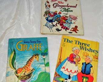 Vintage Children's Little Books Sets