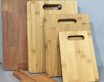 Custom Engraved Bamboo Cutting Boards