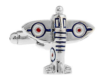 Airplane Cufflinks, Battle Plane Cufflinks