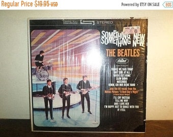 Vintage 1976 LP Record The Beatles Something New Capitol Records ST-2108 Excellent Condition In Shrink 10276