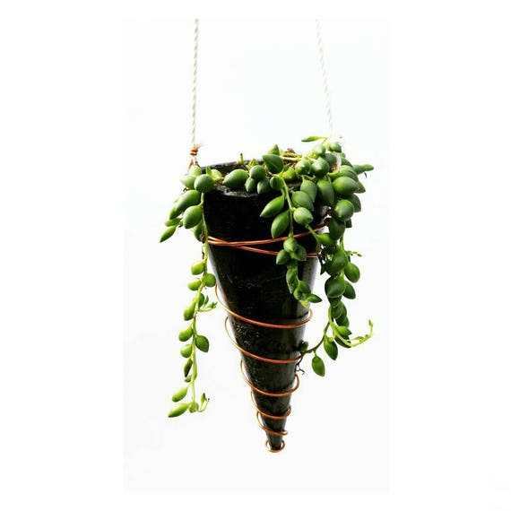 Hanging Planter/Concrete Planter/Housewarming Gift/House Planter/Indoor Planter/Plant Hanger/Plant Lover Gift