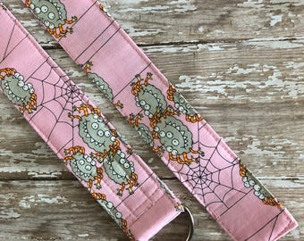 PERFECT GIFT - Fabric Belt - D Ring - Alexander Henry - Spiders - Made in ANY Size - Boutique Mia