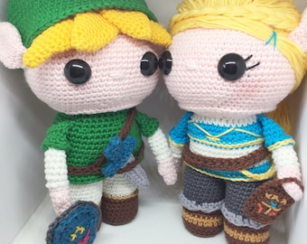 Link and Zelda Discount Package crochet patterns in English/Dutch