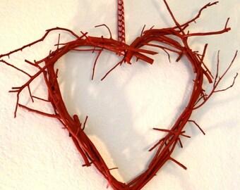 Manzanita Heart Wreath