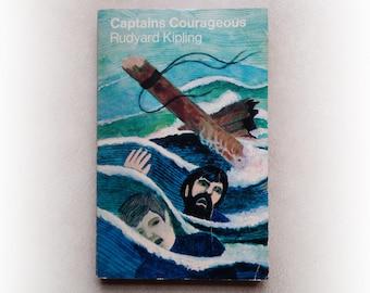 Rudyard Kipling - Captains Corageous - vintage paperback book - 1969