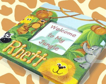 Safari Personalized Children's Frame
