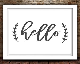Hello SVG | Hello Cut File | Hello png | Silhouette Files | Cricut Files | SVG Cut Files | PNG Files