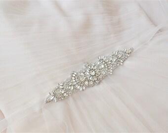 KEELEY Beautiful Vintage Inspired Bridal Belt/Sash