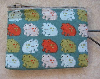 frogs mini bag coin purse