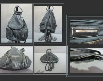 Jones New York Leather Backpack