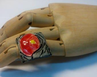 Handmade Ceramic Ring