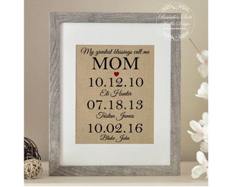 Mom Birthday Gift, Gift for Mom, Christmas from Daughter, Mothers Day Gift, Mothers Day from Husband, Mother of the Bride Gift