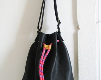 "BAG bucket ""Armor"" [Bucket bag."