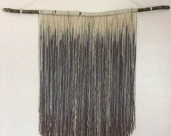 Multi Color Yarn Wall Hanging