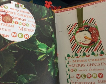 Journal Christmas mini Santa Snowmen Photo