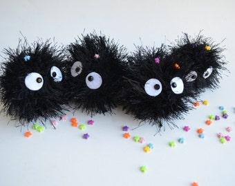 Soot Sprite plush amigurumi Spirited Away Totoro