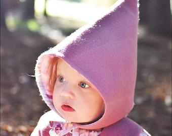 Pure Lambswool Pixie Hat ~ Baby & Kid Sizes