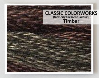 TIMBER Classic Colorworks hand-dyed embroidery floss cross stitch thread at thecottageneedle.com