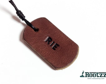 bookmark with name- by buying a traveler's notebook