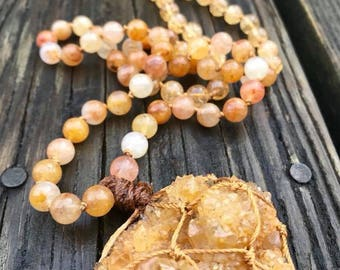 Golden Light Manifestation Mala