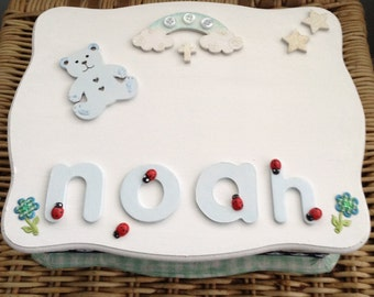 Personalised Memory Box for Babies Child keepsake box, Angel Baby Personalized Baby Box, Baby Bereavement Wooden Keepsake Box,