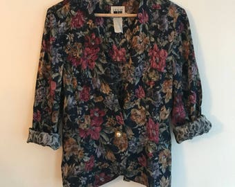 Awesome Floral Blazer (S)