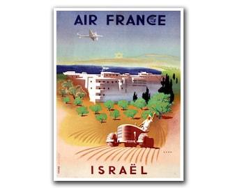 Retro Travel Art Israel Sports Poster Home Decor Vintage Print (H246)