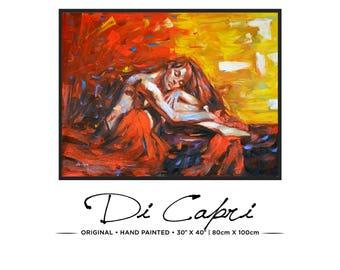 Château Merlot | Original Oil Painting On Canvas | Modern Art | 14