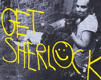 Jim Moriarty Surveillance Footage - Get Sherlock Shirt - Grey