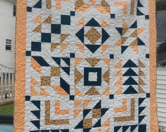 Beautiful Handmade twin size quilt