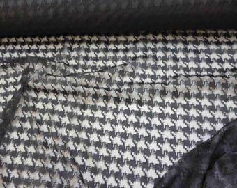 FABRIC width 1.40 pattern Black Lace price pr 1 m