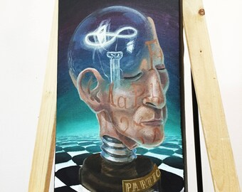 The Mind of God Limited Edition Canvas Print, Surrealism
