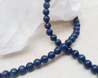 Azurite Blue Round Beads 3/4/6/8/10mm