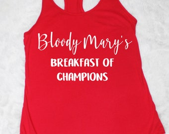 Bloody Mary's Breakfast of Champions Tank